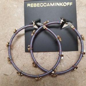 New Rebecca Minkoff hoop earrings